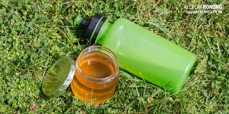 Sportdryck / Energidryck med honung