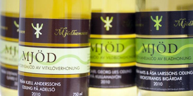 Mjödhamnen - svenska mjöd med honung från svenska biodlare